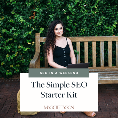 Simple SEO Starter Kit cover and link