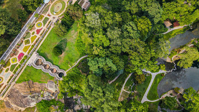 Maymont Drone Photography