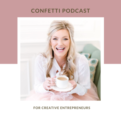 confetti podcast cover