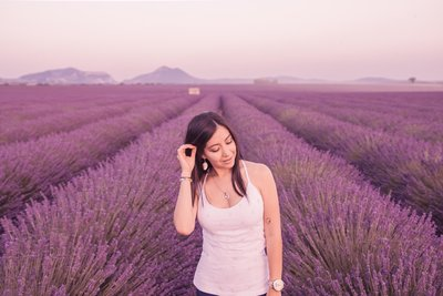 lavender fields andrea marino portrait wedding photographer in provence france