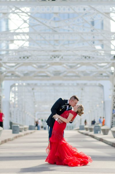 Lauren-Drake-Military-Ball-Pedestrian-Bridge-Nashville-Photographers+1