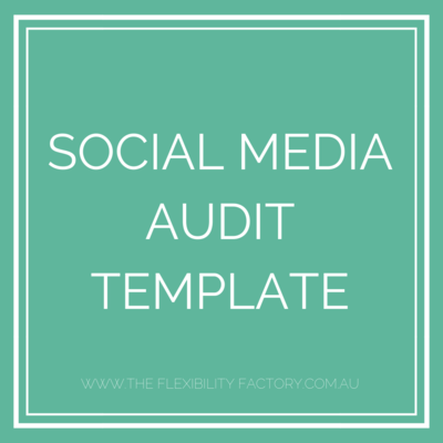 SocialMedia AUDIT
