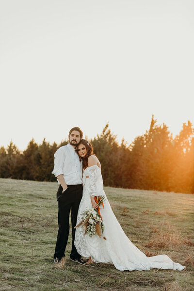 wooden church wedding in denver