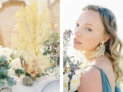 Coastal Beach Wedding Inspiration- Ashley Rae Photography Arizona and California Film Photographer18