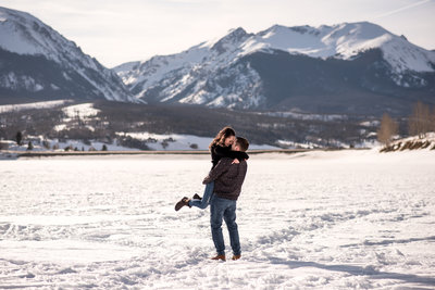 Lake Dillon Breckenridge Engagement Photos16