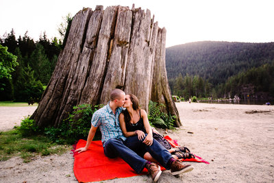 buntzen lake engagement photographer-1