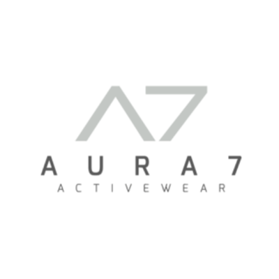 AURA7 Activewear Sustainable Brand Logo