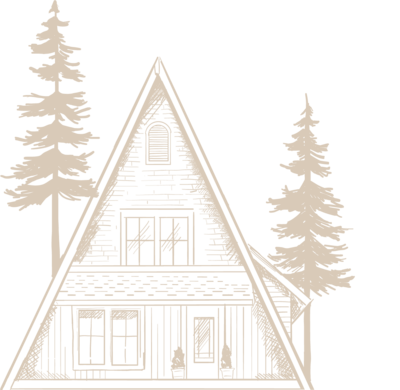 A-frame illustration