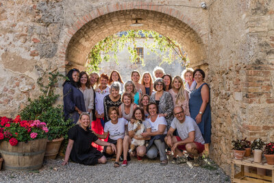 La Dolce Vita retreat 2017 group photo