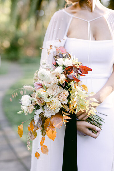 nancy liu chin bridal bouquet