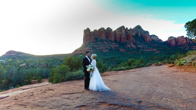 Wedding videography in sedona arizona