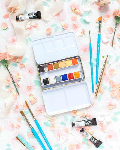 @ 2018 Ashley Nicole Photography - art supplies