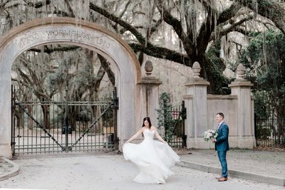 Savannah wedding photo