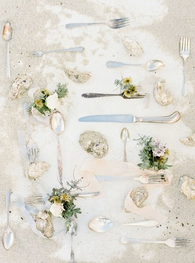 Coastal Beach Wedding Inspiration- Ashley Rae Photography Arizona and California Film Photographer2