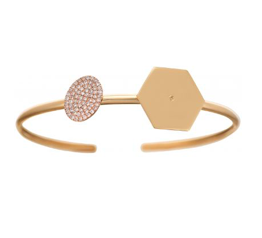Lito Hexagon Round Bracelet