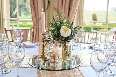 Dusky pink and gold wedding Prestwold Hall sm(8)