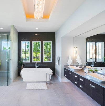 Master bathroom Modern