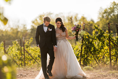 Sand Castle Winery Wedding
