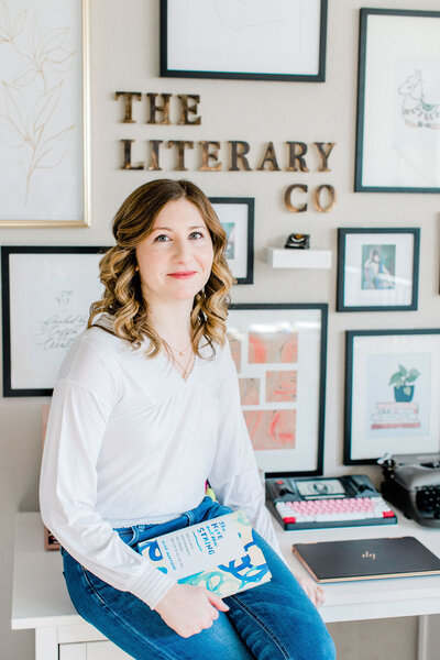 The Literary Co. Copywriting for Brand Entrepreneurs Kayla Dean Writing Power Story Brands Copy Words Writing63