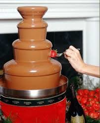 chocolate fountain D