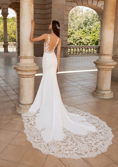 Wedding Dress Long Train