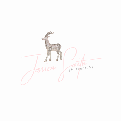 deer logo sketch