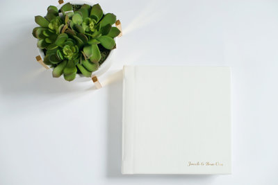 Long Island wedding albums