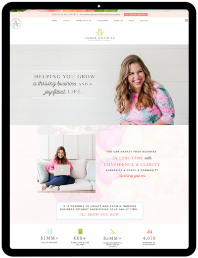 Amber-Housley-Business-Coach-website-Showit