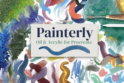 Painterly Cover Small