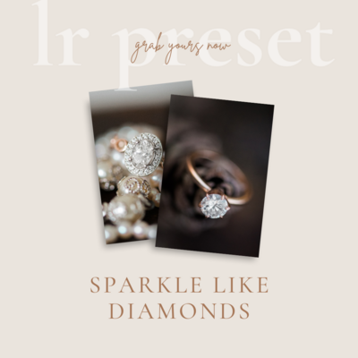 Sparkle like diamonds Lightroom Preset Brush