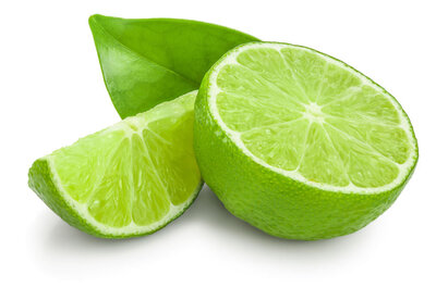 Image of fresh sliced limes
