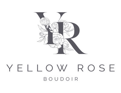 Yellow Rose Boudoir_Main Logo Grey
