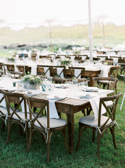 Elegant Tent Reception for Luxury Ranch Montana Wedding in Red Lodge