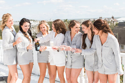 Amanda and Brent - Boone Hall Wedding - PJ Bridesmaids009