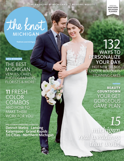 The Knot Michigan Magazine Weller's Ann Arbor Amanda Dumouchelle Photography