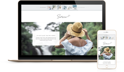 Handcrafting Heartfelt Websites + Branding for Female Creatives |  Viva la Violet | Showit | Showit Templates