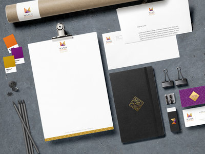 Logo Design Services: Brand Stationery | design for Interior Designer, Mandy Straight