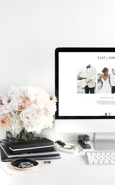 East Side - Showit Website Template by With Grace and Gold