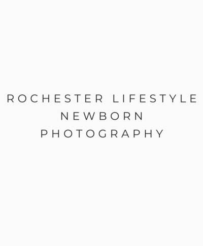 rochester lifestyle newborn photography