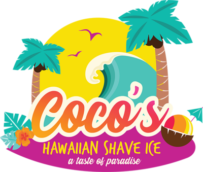 Coco's Hawaiian Shave Ice Logo (Small)