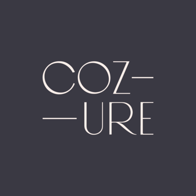 Cozure brand design by Pace Creative Design Studio