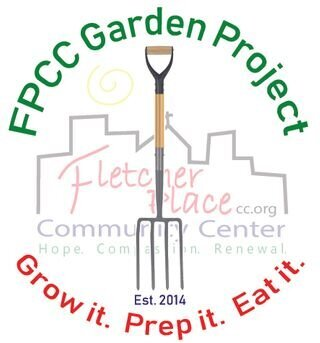 Fletcher Place community garden logo