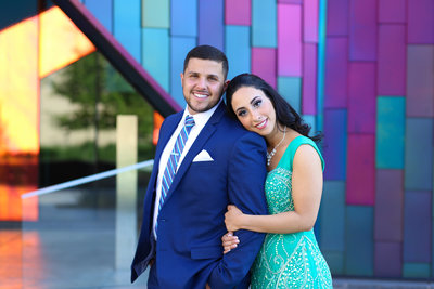 arab engagement photos - kansas city wedding photographer