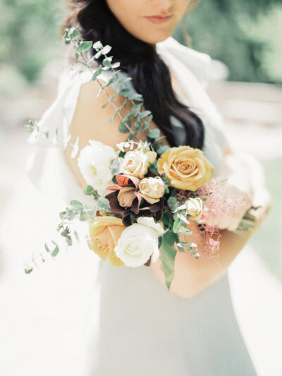 Lush Bridesmaids Bouquet