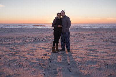 Maria and Scott at Assateague