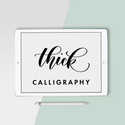 thick calligrpahy Mockup_square