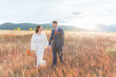 jackson hole fall wedding