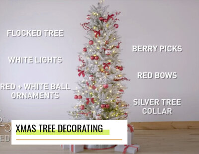 lowes how to decorate a christmas tree