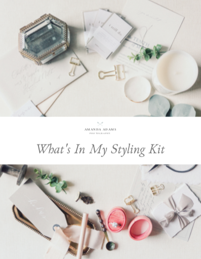What's In My Styling Kit Guide for Small Businesses