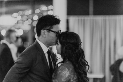 bride-and-groom-kissing-forehead-albany-wedding